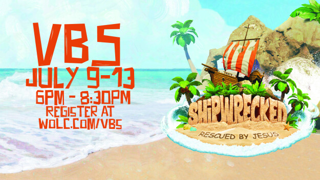 Shipwrecked VBS - July 9-13, 2018