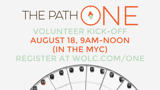 The Path ONE: Volunteer Kick-Off