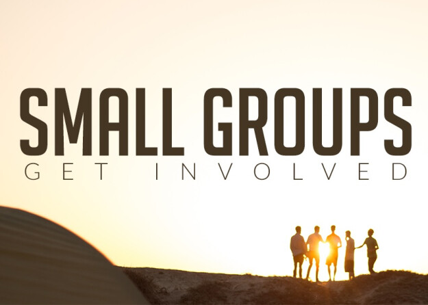 New Small Groups Begin this Week