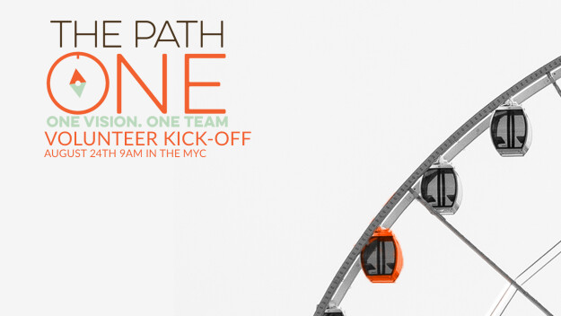 The Path ONE: Family Ministries Volunteer Kick-off