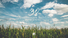 Anniversary Sunday: A Long Obedience In the Same Direction