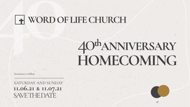40th Anniversary Homecoming